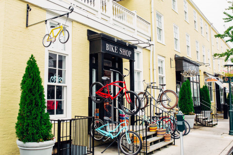 congress hall bike shop