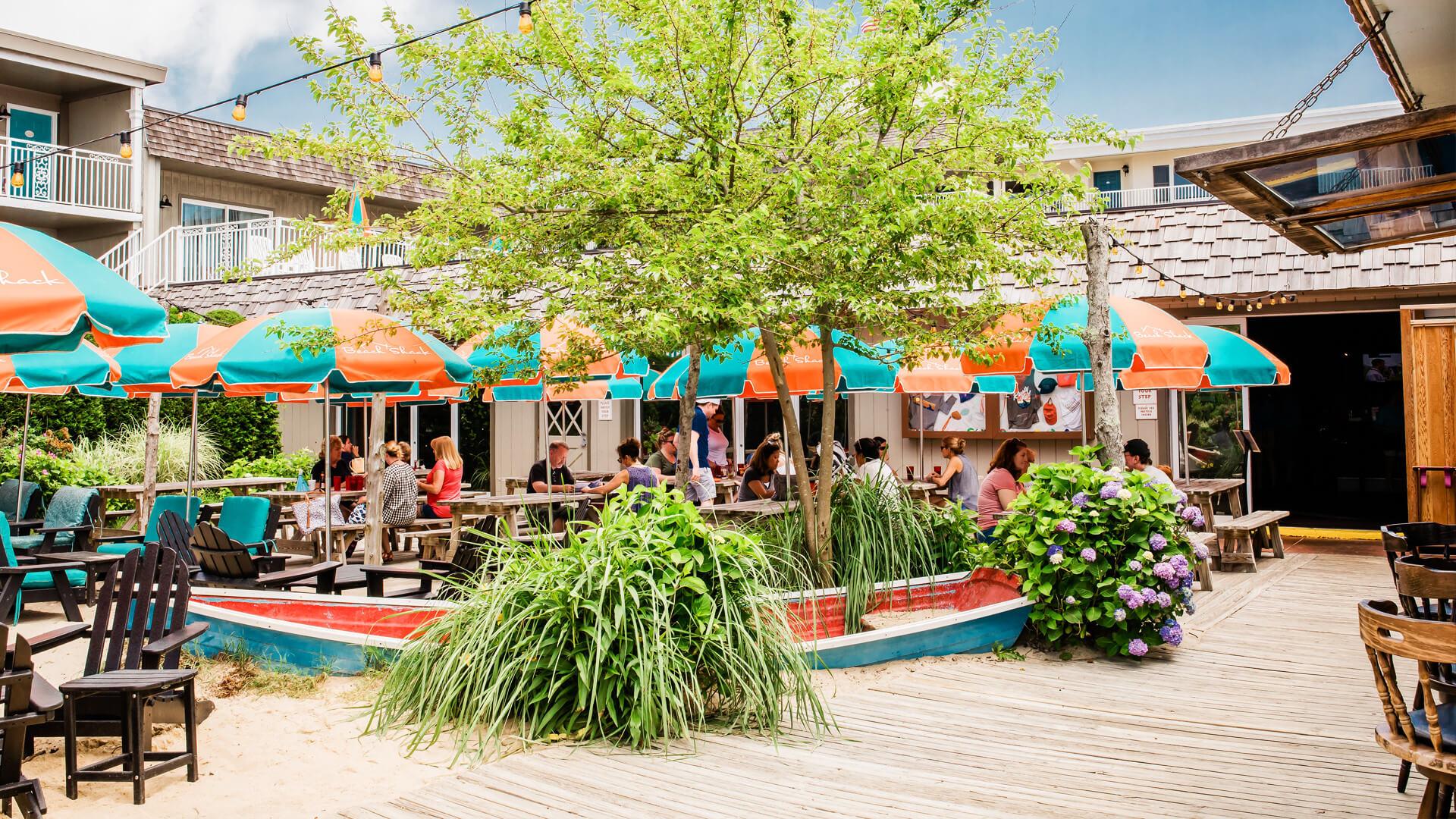 Rusty Nail Cape May Nj Restaurant At The Beach Shack Hotel