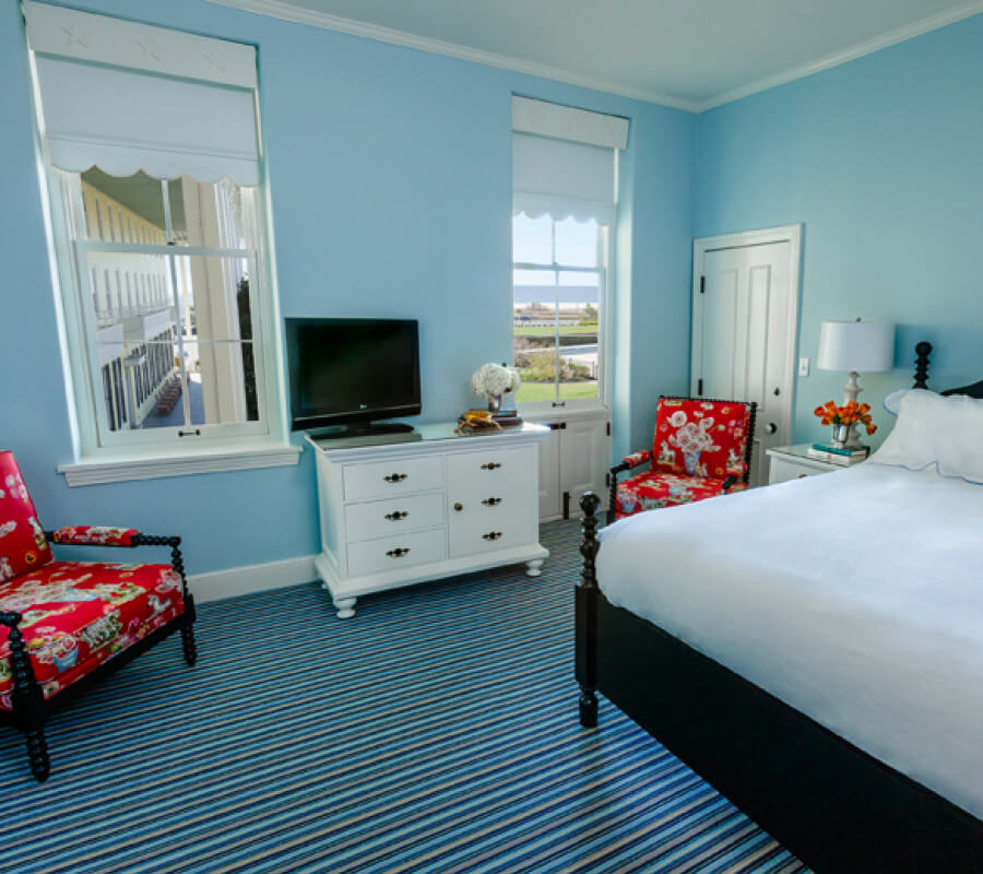 Congress Hall hotel room with view of ocean
