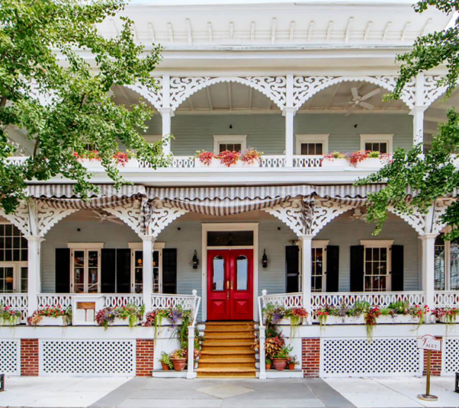 Virginia Hotel with porches