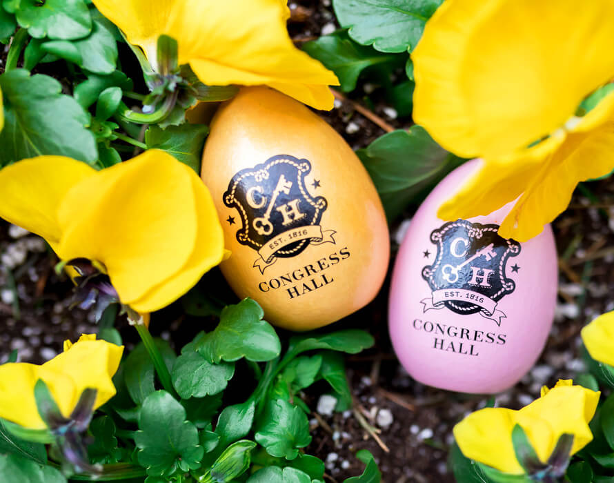 Congress Hall Easter eggs