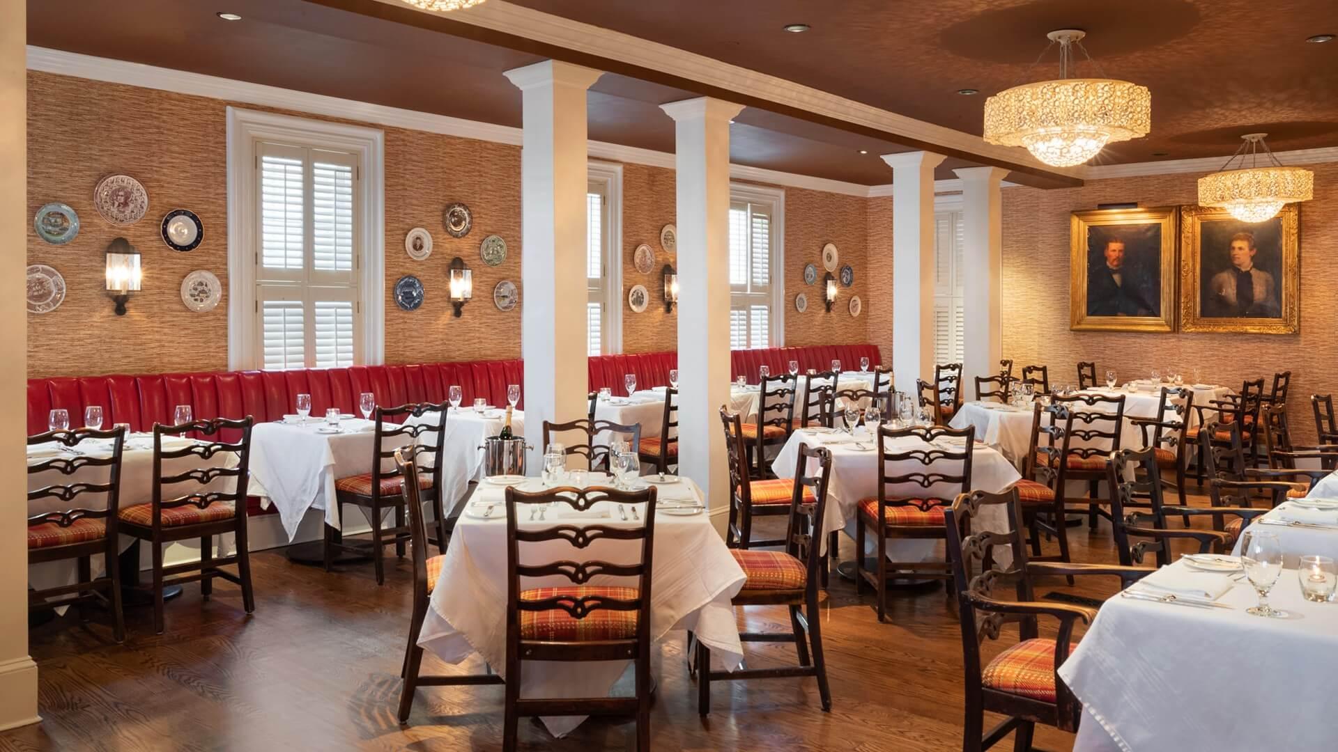The Ebbitt Room Cape May Restaurant At The Virginia Hotel