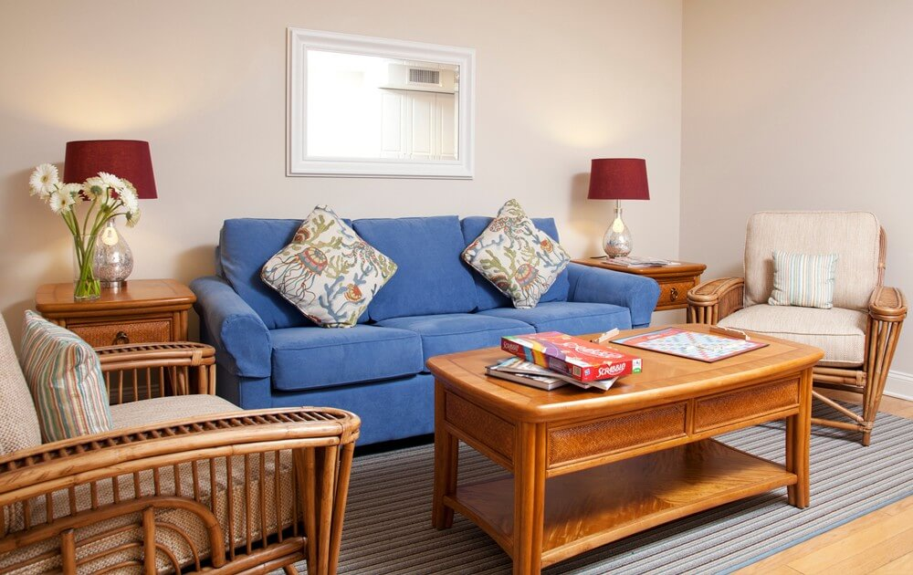 sandpiper suite living room